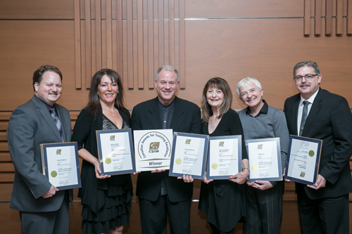 CSTD award recipients - see news release for names