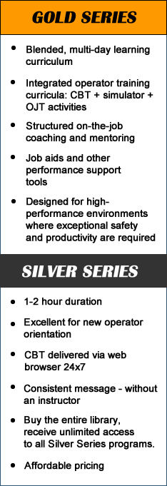 Comparison of VISTA Gold vs. Silver Series training programs