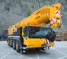 VISTA safety training products for mobile cranes and hydraulic cranes