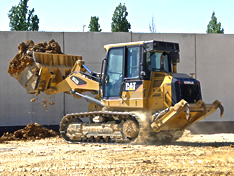 VISTA safety training products for crawler loaders