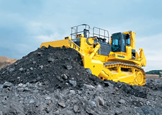 VISTA safety training products for mining dozers