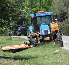 VISTA safety training products for safe, productive roadside mowing