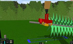 forestry harvester simulator