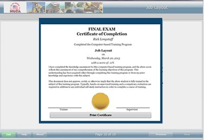 Training certificate template word free printable award certificate