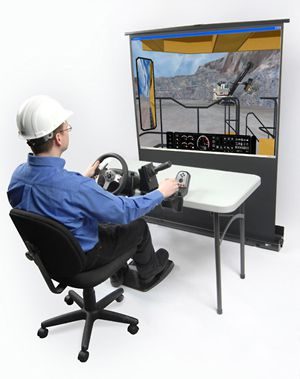 PC-based heavy equipment simulators from VISTA