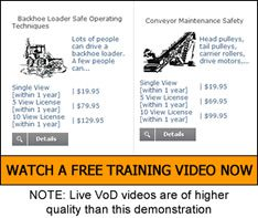 VISTA Video on Demand training