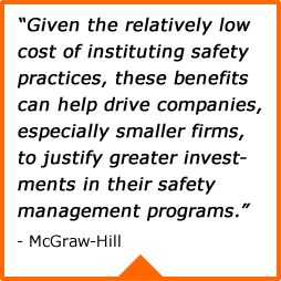 justifying an increased investment in safety