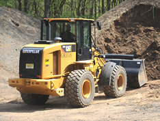 VISTA safety training products for wheel loaders