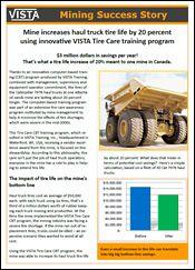 VISTA Tire Care Case History