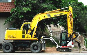VISTA wheeled excavator instructor kit