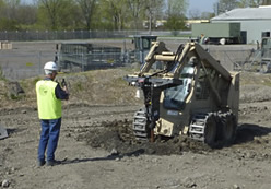 construction equipment field training - skid steer loader