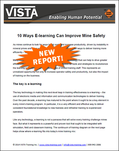 10 ways e-learning can improve mine safety