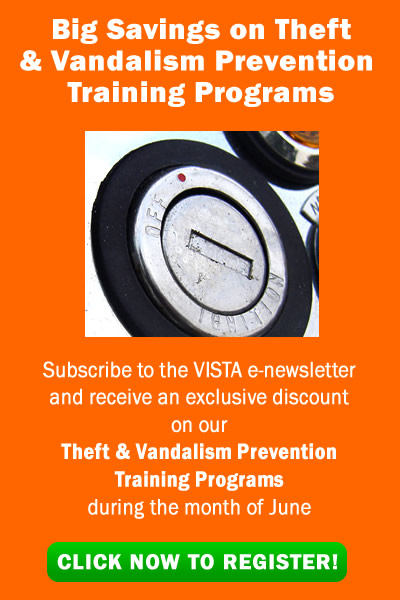 equipment theft and vandalism prevention training programs