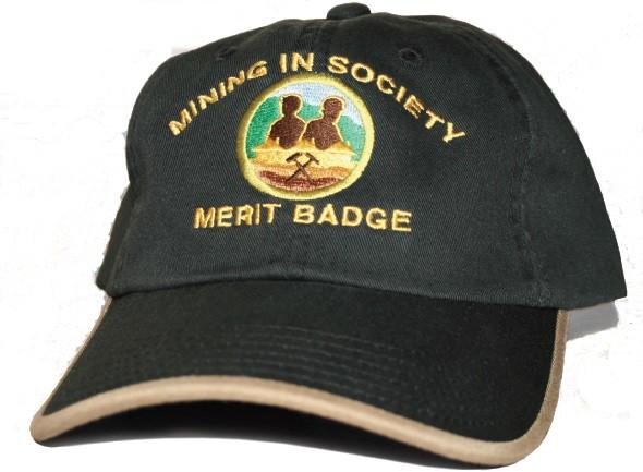 Mining In Society baseball cap