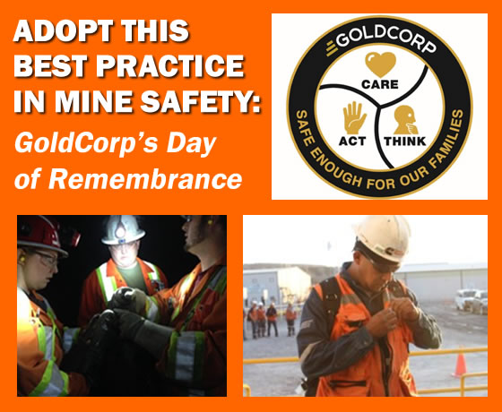 Goldcorp Day of Remembrance