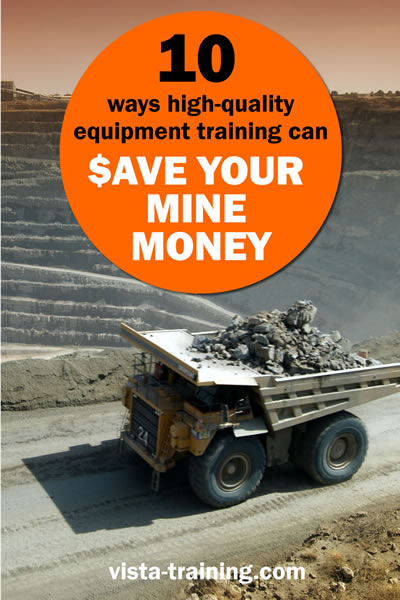10 ways high-quality equipment training can save your mine money