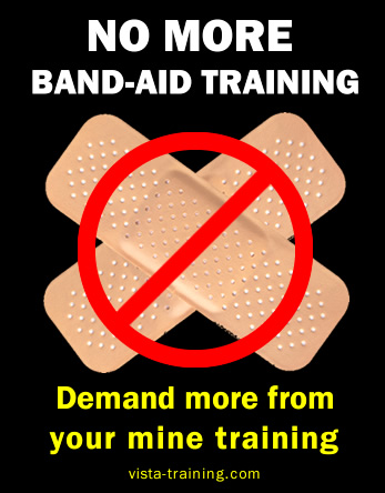 On-site training: bandages only last so long